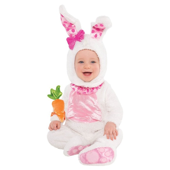 Party City Other - NWT Wittle Wabbit Baby Infant Costume - Baby 12-24